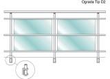 Aluminijska ograda - D2